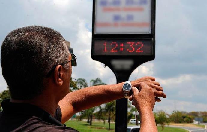 horario de verao vale esta - Horário de verão começa no dia 18 de novembro