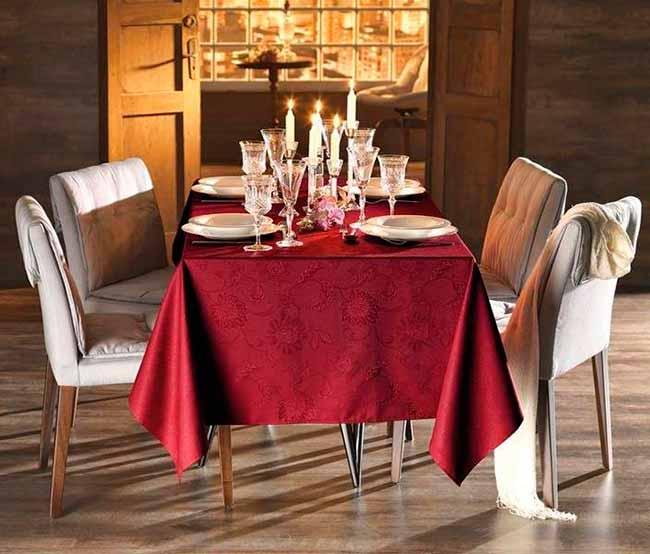 jacquard floral Sienna - Karsten lança coleção de Natal