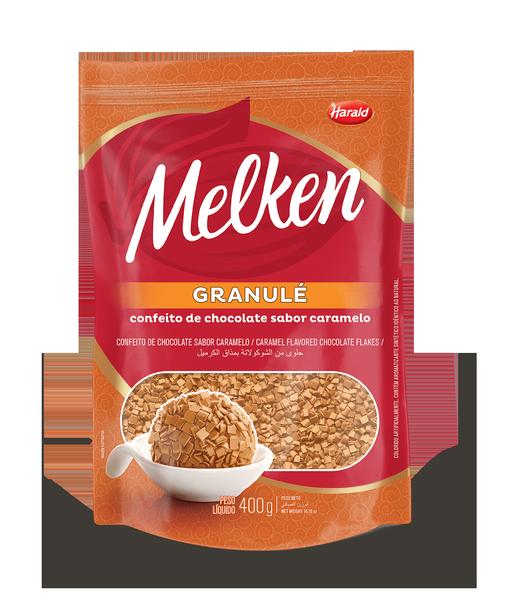 melken granule caramelo flat web  - Harald lança granulados Melken