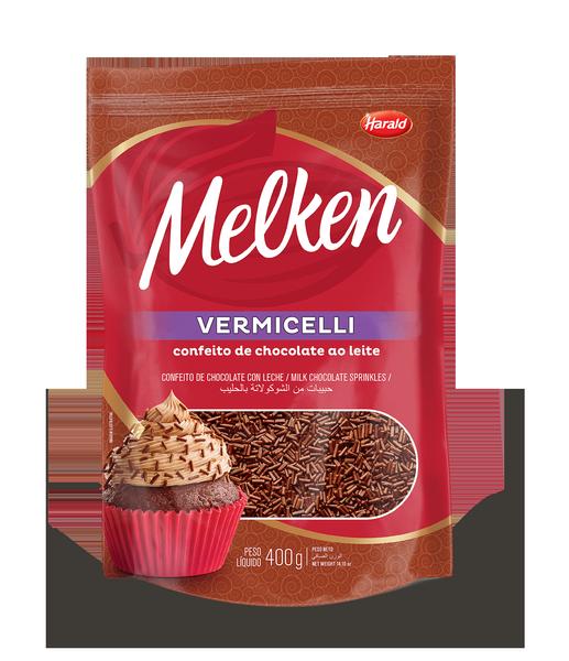 melken vermicelli ao leite flat web  - Harald lança granulados Melken