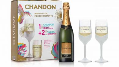 pack chandon brut colors collection   verso garrafa 2taA as 390x220 - Chandon lança taças brancas para o réveillon