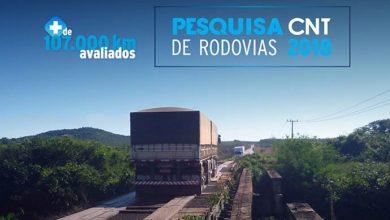 pesquisa rodovias 2018 site 390x220 - Pesquisa CNT de Rodovias indica que 57% dos trechos apresentam problemas