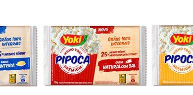 pipoca 390x192 - Yoki lança pipoca de micro-ondas com menos sódio e gordura