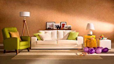 sofá corano maranelo branco e poltrona cambraia verde baixa 390x220 - Dicas para escolher o revestimento do estofado