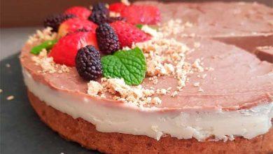 torta mousse vegana 390x220 - Receita vegana de torta Mousse de Chocolate