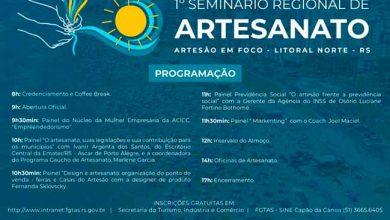 31173520 1560413 GD 390x220 - Capão da Canoa sedia 1º Seminário Regional de Artesanato