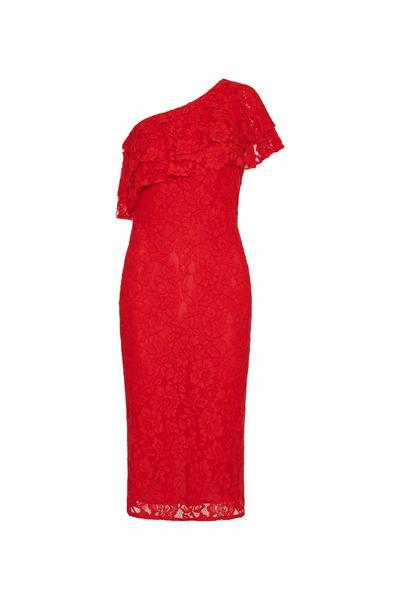 349579 839015 tvz vestido tubinho renda vermelho ref.90482971 web  - Moda festa TVZ
