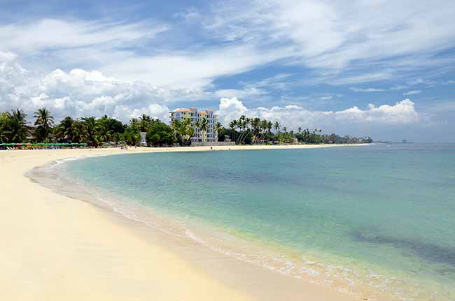 Beach Juan Dolio 001 - As praias paradisíacas da República Dominicana