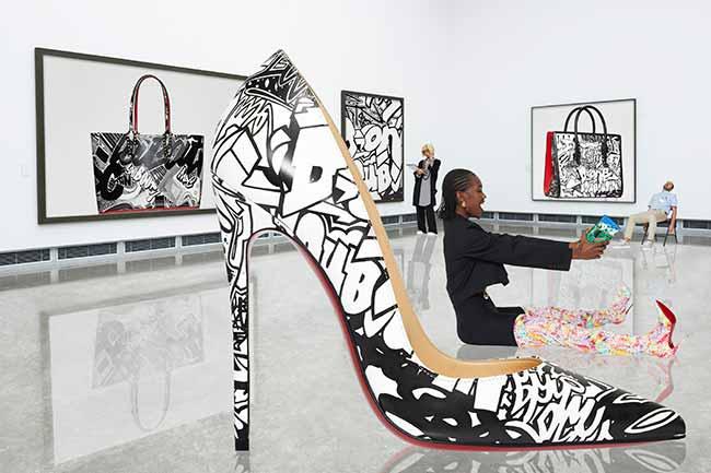 CL SS19 LOUBIGRAF SIDUATIONS 2 - Christian Louboutin lança coleção com grafite