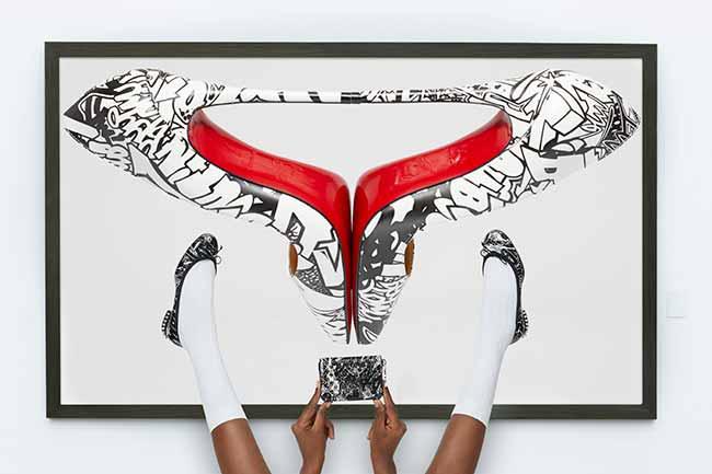 CL SS19 LOUBIGRAF SIDUATIONS 6 - Christian Louboutin lança coleção com grafite