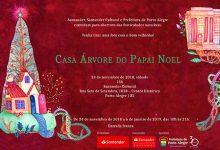 Casa Árvaore do Papai Noel 220x150 - Ação de Natal e música erudita dia 24 no Santander Cultural Porto Alegre