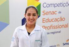Competições etapa regional Caxias Daniela 220x150 - Aluna do Senac Caxias do Sul representa o RS em competição nacional