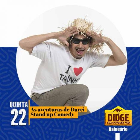 Didge Steakouse Pub de Balneário Camboriú 468x468 - Stand Up Comedy nesta quinta-feira, 22, em Balneário Camboriú