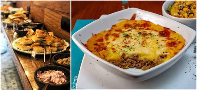 Espaço D Gastronomia escondidinho de costela - Lugares para confraternização de final de ano em São Paulo