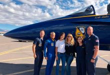 Esquadrão Blue Angels da Marinha Americana 220x150 - Jornalista brasileira visita Esquadrão Blue Angels da Marinha Americana