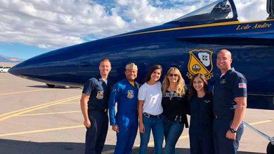 Esquadrão Blue Angels da Marinha Americana 390x220 - Jornalista brasileira visita Esquadrão Blue Angels da Marinha Americana