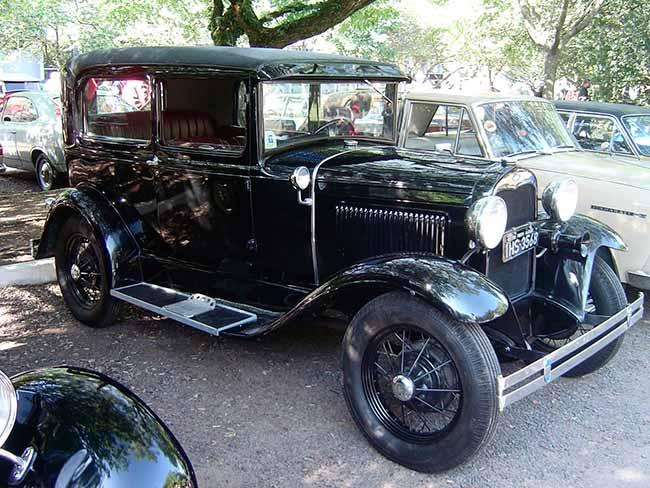 Exposição de carros antigos Divulgação 2 - Bourbon Wallig sedia o 27º Encontro Sul Brasileiro de Veículos Antigos