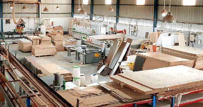 Fábrica de móveis no Rio Grande do Sul - Aumento de produção na indústria moveleira no RS