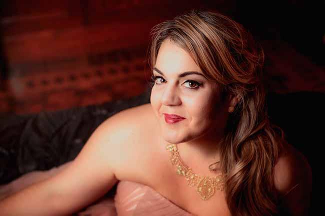 Gabriella Di Laccio Crédito Anatole Klapouch - Programação cultural de 70 anos da PUCRS traz soprano gaúcha Gabriella Di Laccio