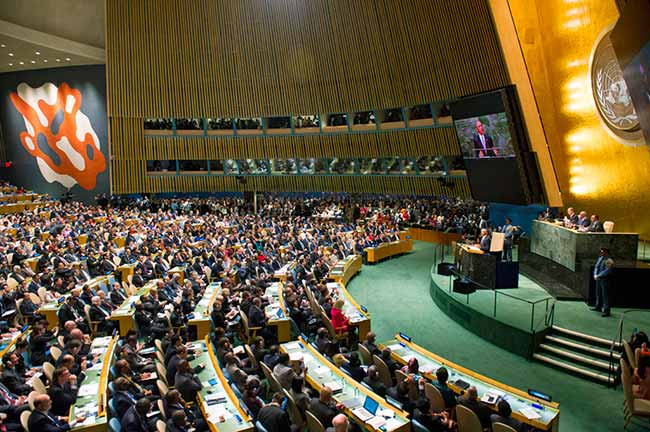 General Assembly - Escolas alemãs no Brasil discutem parceria em simulações da ONU