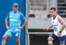 Grêmio finaliza preparação para confronto com o São Paulo 220x150 - Grêmio acerta time para encarar o São Paulo