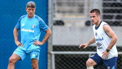 Grêmio finaliza preparação para confronto com o São Paulo 390x220 - Grêmio acerta time para encarar o São Paulo