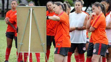 Gurias Coloradas fazem segundo treino de olho no Gre Nal 390x220 - Futebol feminino: Gurias Coloradas treinam mirando o Gre-Nal