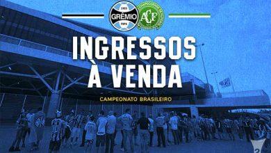 Ingressos Arena Grêmio 1 390x220 - Ingressos para Grêmio X Chapecoense já estão à venda