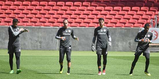 Inter fortaleza 1 - Inter treina para enfrentar o Fortaleza fora de casa