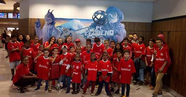 Inter promoveu outubro divertido no Projeto Interagir 1 - Inter promoveu outubro divertido no Projeto Interagir