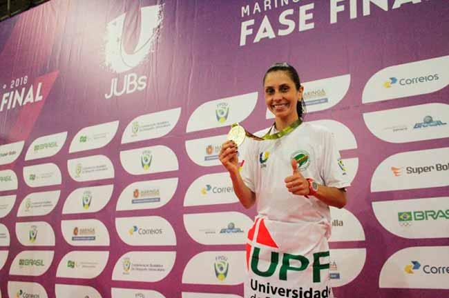 Jogos Universitários Brasileiros - Atletismo feminino garante medalhas gaúchas nos Jogos Universitários Brasileiros