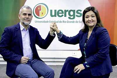 Leonardo Beroldt e Sandra Lemos - Leonardo Beroldt assume a Reitoria da Uergs na segunda-feira