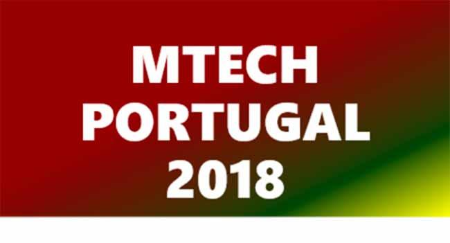 Logo MTECH 2018 - MTECH Brasil – Portugal acontece de 5 e 10 de novembro em Portugal