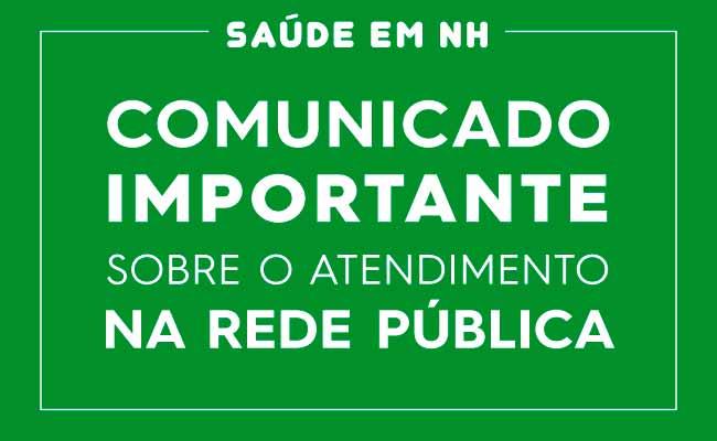 SAUDE EM NH - Novo Hamburgo prioriza atendimento de saúde para moradores do município