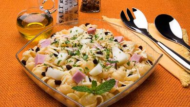 Salada de Gnocchi com Melão e Presunto 390x220 - Salada de Gnocchi com Melão e Presunto