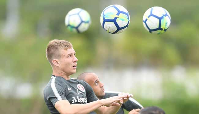 Treino do Inter para enfrentar o Atlético PR - Inter joga com o Atlético-PR no Beira-Rio