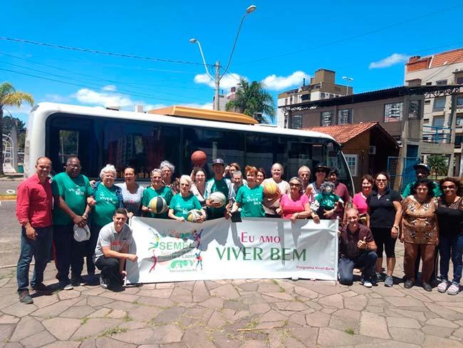 Viver Bem3 - Atletas do Viver Bem viajam para campeonato em Tramandaí