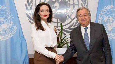 4d018a7903b18 Angelina Jolie, enviada especial do ACNUR, pede soluções duradouras no Iêmen