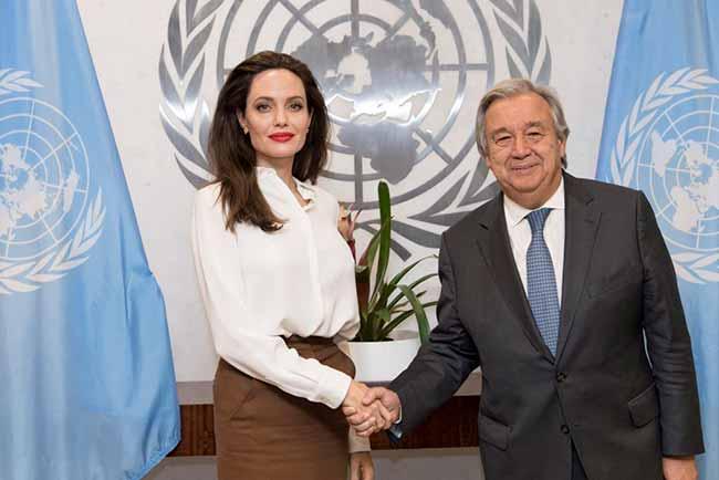 angelina jolie iemen - Angelina Jolie, enviada especial do ACNUR, pede soluções duradouras no Iêmen