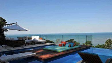 arquiteta Karina Korn 4 390x220 - Casa na praia destaca vista com piscina de borda infinita