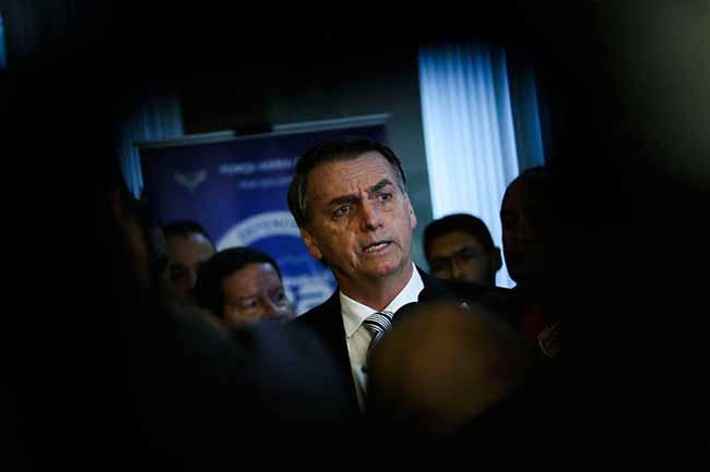 bols - Bolsonaro cancela agendas com Rodrigo Maia e Eunício Oliveira