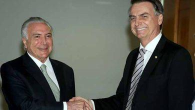 bolsonaro temer 390x220 - Estes são os integrantes da equipe de transição de Bolsonaro
