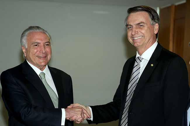 bolsonaro temer - Estes são os integrantes da equipe de transição de Bolsonaro