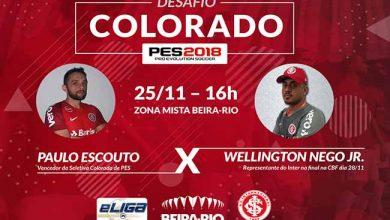 Photo of Desafio PES 2019 terá desafio online no Playstation 4 como preliminar no Beira-Rio