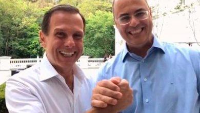 doria e witze4 390x220 - Dória e Witzel discutem integração entre São Paulo e Rio