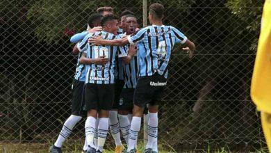 gremio bate o figueirense na ida pelas semifinais da copa sub sub 19 390x220 - GrêmioSub-19 derrota o Figueirense pelas semifinais da Copa Sul