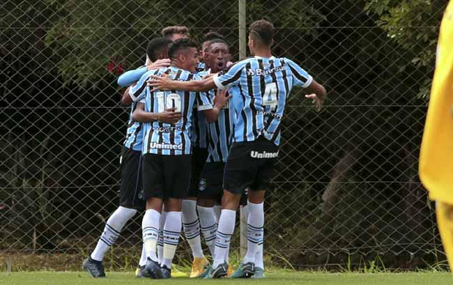 gremio bate o figueirense na ida pelas semifinais da copa sub sub 19 - GrêmioSub-19 derrota o Figueirense pelas semifinais da Copa Sul