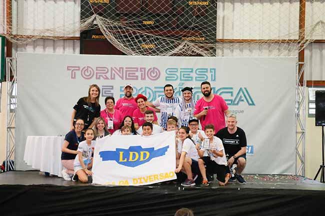 ldd - Liga da Diversão vence o Torneio Sesi de Robótica FLL