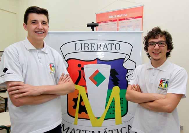 liberato - Liberato tem dois medalhistas de ouro na OBMEP