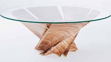 mesa 390x220 - Mesa Torsion inspirada em Puglia é novidade da Natuzzi Italia